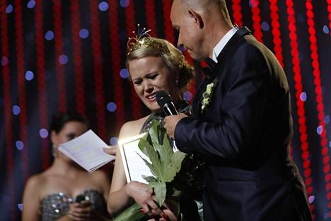 Saana Sassali ei ollut saada sanaa suustaan sen jälkeen, kun hänen kerrottiin voittaneen.
