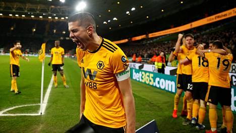 Wolverhampton Wanderers voitti Manchester Unitedin 2–1.