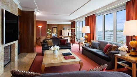 Sveitsissä sijaitseva luksussviitti maksaa liki 80 000 euroa yöltä.