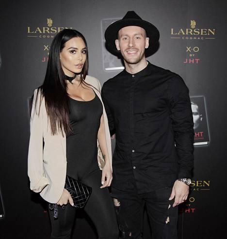 Sofia ja ex-puoliso Niko vuonna 2016.