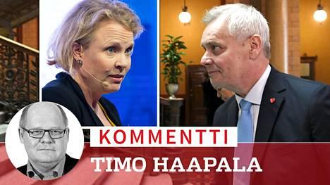 IS:n tietojen mukaan Antti Rinne olisi kaavailemassa Pilvi Torstista ministeriä.
