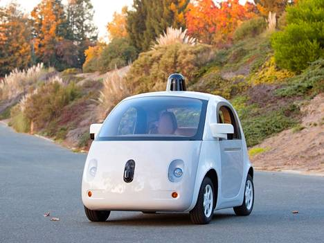 Googlen robottiauton prototyyppi.