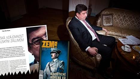 Pavel Kuznetsovin slovakialaiselle Zem & Vek -lehdelle toukokuussa 2014 antama haastattelu vuoti nettiin kesällä 2015 alkuperäisen haastattelunauhan muodossa.