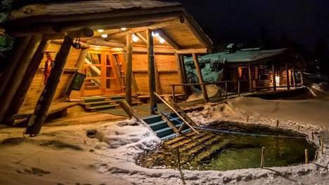 Suomen Ladun savusauna Kiilopäässä tarjoaa rentoutumishetken hiihtolenkin jälkeen.