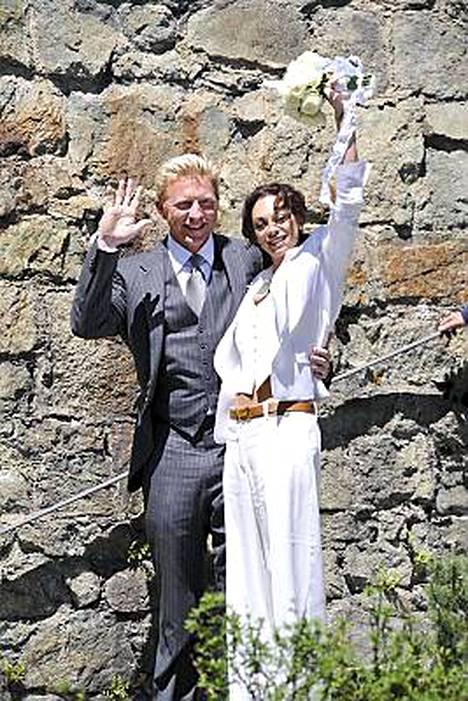 Boris ja Lilly Becker vihittiin 12. kesäkuuta Sveitsin St. Moritzissa.