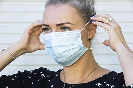 18–80-vuotiaiden ikäryhmässä maskin käyttö oli laajinta.
