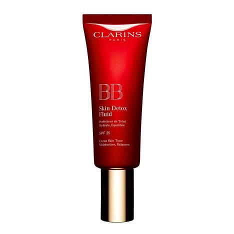 Clarinsin BB Skin Detox Fluid BB-voide antaa puolipeittävän, aavituksen mattaisen lopputuloksen, 42 €.