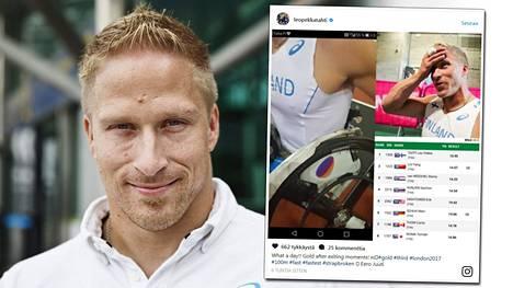 Leo-Pekka Tähti kelasi Lontoossa maailmanmestariksi vaikeuksista huolimatta.