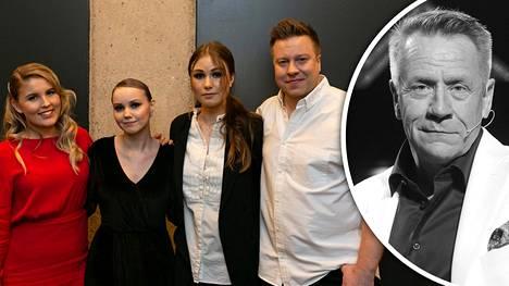 """Olli Lindholmin tiimi tunteikkaana juuri ennen suoraa The Voice of Finland -lähetystä: """"Jos alkaa miettiä liikaa, se menee itkemiseksi"""""""