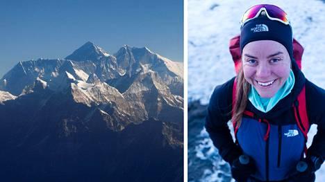 Mount Everestin valloitus päättää Anni Penttilän kahdeksan vuotta kestäneen projektin.