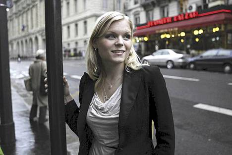 Kira Poutanen on perustanut kotinsa Pariisin 11. kaupunginosaan.