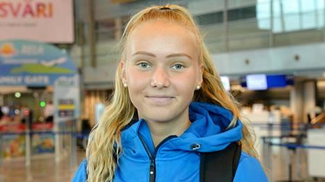 Elina Kinnunen pääsee kisaamaan kultamitalista.