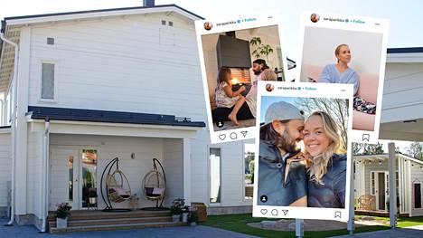 """Kotoisa-ohjelmassa päästään näkemään Sara ja Mikko Parikan uuden kodin pihan toteutus. """"Minulla oli pihan suhteen yksi toive, helppohoitoisuus! Ei haittaisi, jos ei tarvitsisi hoitaa ollenkaan"""", Mikko naurahtaa."""