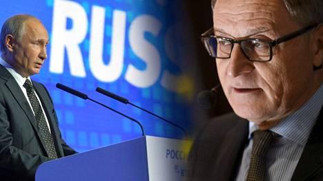 Elokuussa Moskovan-suurlähettilään pestin jättänyt Hannu Himanen sanoo, että lännen ja Venäjän välinen jännite on huolestuttavaa.