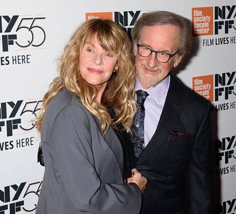 Kate Chapshaw ja Steven Spielberg.