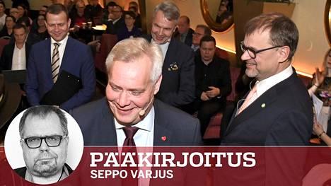 Suurten puolueiden sote-ajattelu on äkkiä avautunut. Petteri Orpon kokoomus, Antti Rinteen demarit ja Juha Sipilän keskusta esittelevät kilvan ideoitaan.