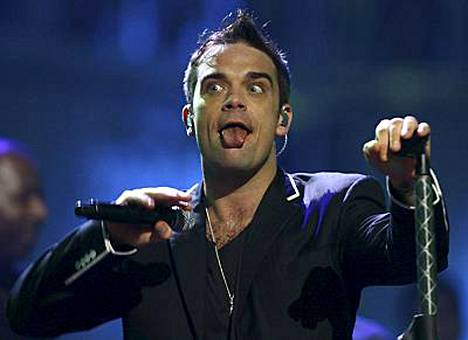 Robbie Williams on tullut hulluksi.