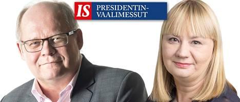 Politiikan erikoistoimittaja Timo Haapala ja politiikan uutistuottaja Hanna Vesala tenttaavat ehdokkaita.