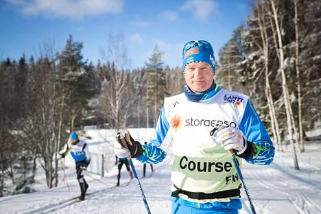 Lahden menestyksekkäissä MM-kisoissa 2017 Matti Haavisto oli maajoukkueen huoltopäällikkö.