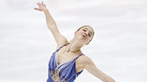 Maria Sotskova Espoossa Finlandia Trophy -kisassa syksyllä 2017.