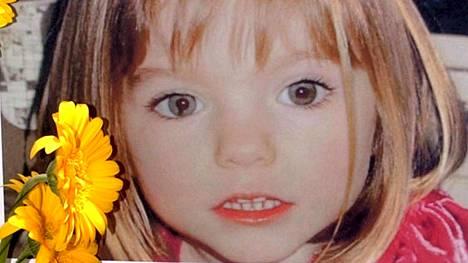 Madaleine McCann, 3, katosi Praia Da Luzissa Algarvessa 3. toukokuuta 2007.