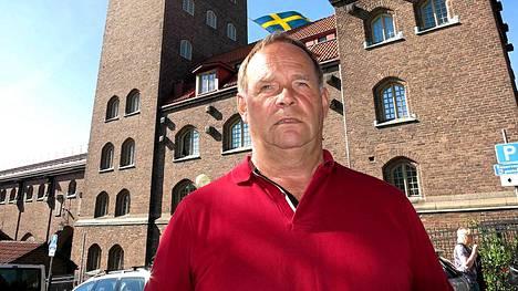 Harry Råttsille Tukholman maaottelu oli jo 50. peräkkäinen paikan päällä.