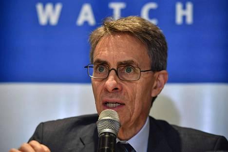 Kenneth Roth on toiminut Human Rights Watchin johtajana vuodesta 1993.