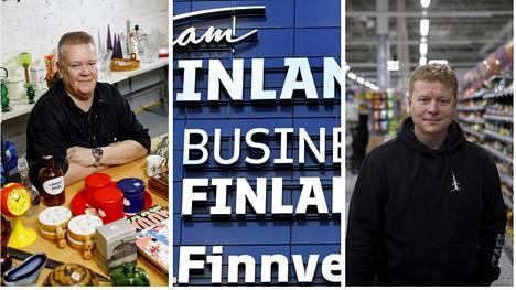 Aki Palsanmäki pyörittää vaimonsa kanssa Hirvaskankaan Kauppahuonetta. Sampo Kaulanen on toiminut Jounin Kaupan kauppiaana vuodesta 2008 lähtien.