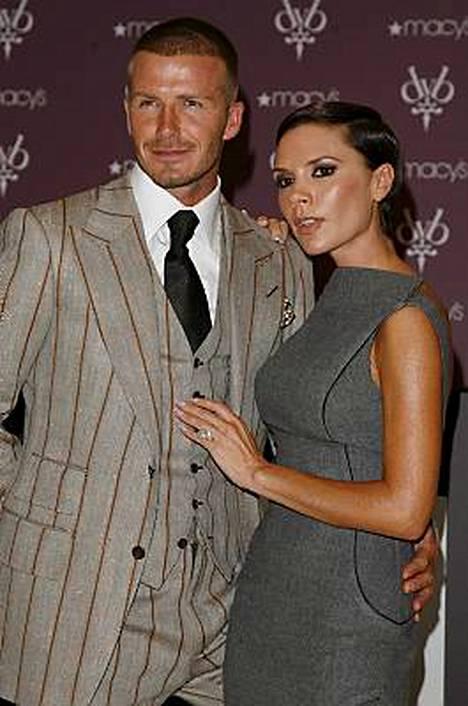 David ja Victoria Beckham eivät ole munkkien suosiossa.
