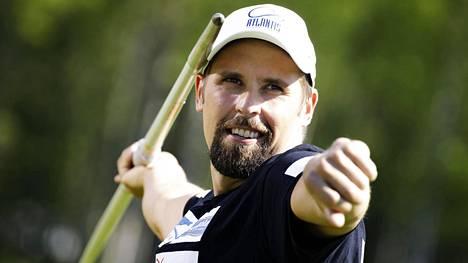 Antti Ruuskanen palasi kilpailemaan lähes kahden vuoden tauolta. Arkistokuva.