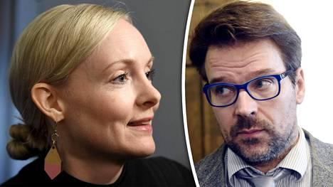 """Maria Ohisalon suosio kenttäväen keskuudessa paistaa myös kyselyn avovastauksissa. Ville Niinistön paluu puheenjohtajaksi olisi """"liian putinmaista""""."""