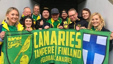 Norwichilla on Suomessa pieni mutta intohimoinen faniyhdistys.