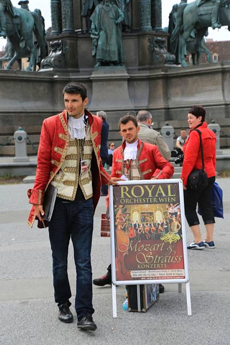 Wienissä riittää Mozarteja.