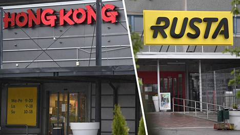 Hong Kong -tavarataloketjun nimi vaihtuu Rustaksi kahden viikon kuluttua.