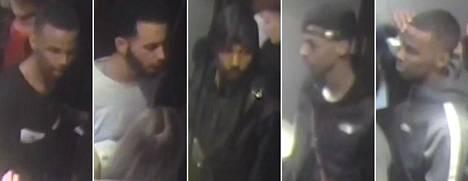 Poliisi on pyytänyt yleisöltä kuvissa olevien henkilöiden tunnistusta.