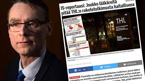 Oikeuskansleri Tuomas Pöysti aloittaa tutkinnan THL:n saamasta tutkimusrahoituksesta.