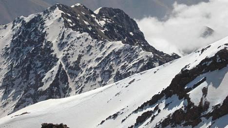 Toubkal-vuori on Pohjois-Afrikan korkein.
