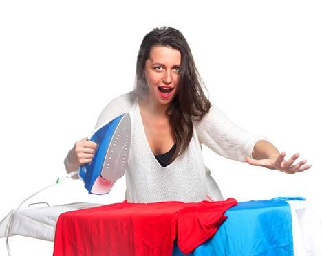 Jos on lapsena joutunut silittämään alusvaatteetkin, ei välttämättä jaksa tehdä sitä aikuisena.