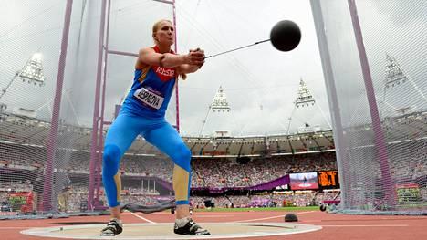 Maria Bespalova oli 11:s Lontoon olympiafinaalissa.