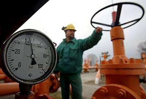 Unkarissa kaasuputkien paine on laskenut.