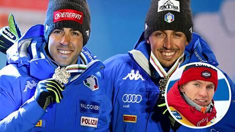 Federico Pellegrino ja Fransesco De Fabiani liittyvät ensi kaudeksi Venäjän harjoitusrinkiin. Pellegrino haaveilee pääsevänsä harjoittelemaan myös Aleksandr Bolshunovin kanssa.