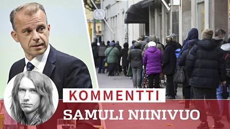 Poliitikot intoutuvat aina aika ajoin puhumaan sosiaaliturvaetuuksilla elävistä ihmisistä. Viimeksi niin teki keskustan eduskuntaryhmän uusi puheenjohtaja Juha Pylväs.