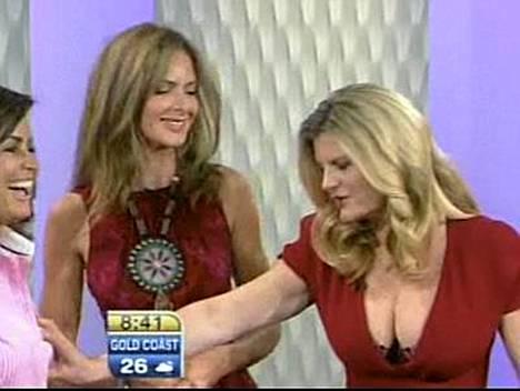 Susannah Constantine yllätti Lisa Wilkinsonin Today showssa.