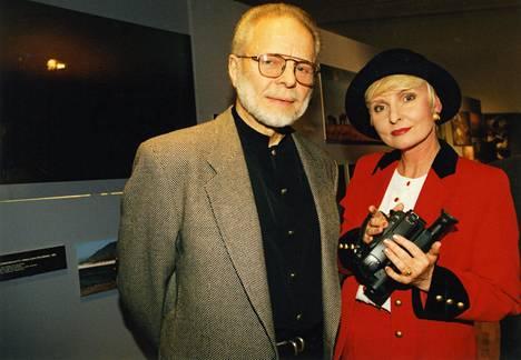 Kuva Timo ja Marjatta Sarpanevasta vuodelta 1995. Timo kuoli 11 vuotta myöhemmin.