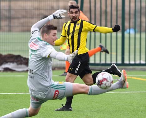 Borjas Martinin edustama Honka haastaa HJK:n vahvasti tällä kaudella.