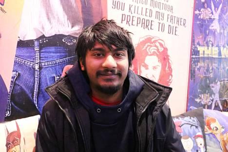 Neil Patel, opiskelija, 23