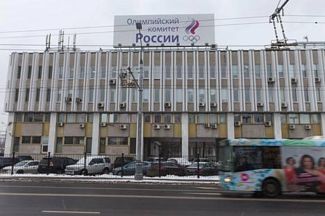 Venäjän Olympiakomitean rakennus Moskovassa.