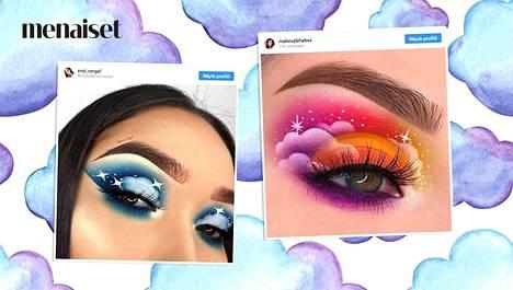 Instagramin meikkitaiturit ihastuttavat jälleen uudella tyylillä.