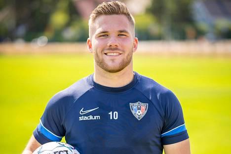 Benjamin Källman on iskenyt tällä kaudella viisi maalia Veikkausliigassa.