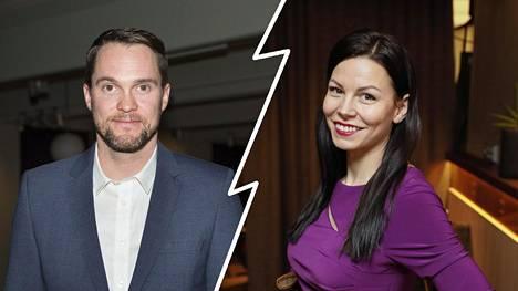 Jontte ja Mari Valosaari ovat eronneet.